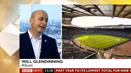 Will Glendinning BBC Event Expert